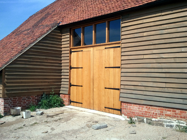 Purpose Made Joinery Oak Barn Doors Joinery Sussex High Quality